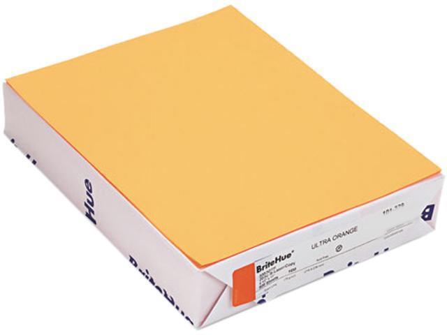 Mohawk 10132-9 Brite-Hue Multipurpose Colored Paper, 20lb, 8-1/2x11, Ultra Orange, 500 Shts/Rm