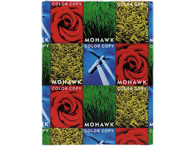 Mohawk 54-301 Color Copy 100% Recycled Paper, 96 Brightness, 28lb 8-1/2x11, White, 500 Shts/Rm