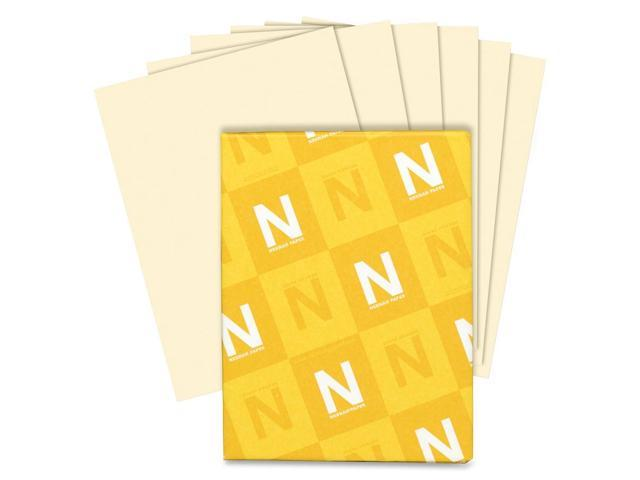 Neenah Paper Classic Crest Stationery Writing Paper, 24lb, 8-1/2 x 11, Baronial Ivory, 500/Rm