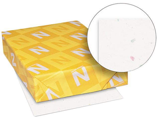 Wausau Paper 22301 Astrobrights Colored Paper, 24lb, 8-1/2 x 11, Stardust White, 500 Sheets/Ream