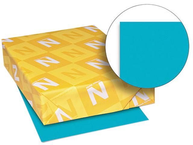 Wausau Paper 22479 Astrobrights Colored Paper, 24lb, 8-1/2 x 11, Terrestrial Teal, 500 Sheets/Ream