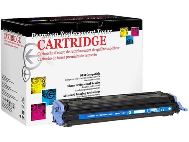 Westpoint Compatible Color LJ 1600 2600 2605 Series CM1015 MFP CM1017 MFP (HP 124A) Cyan Toner (OEM# Q6001A) (2000 Yield)