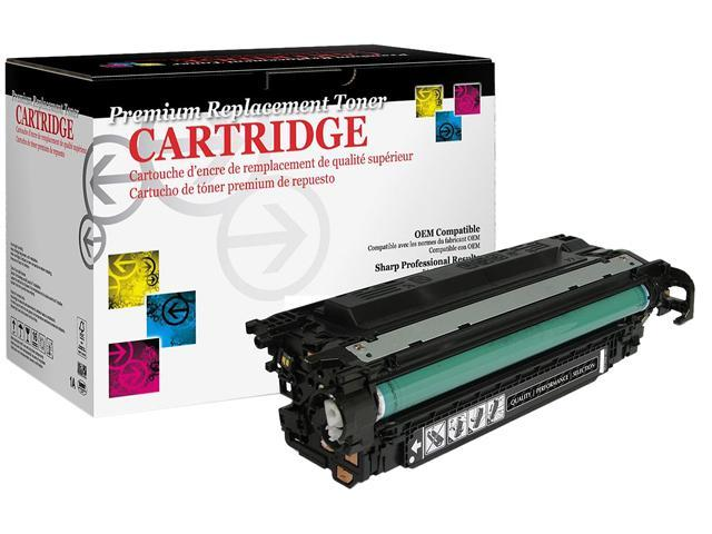 Westpoint Compatible Color LJ CM3530 CP3525 Series (HP 504X) High Yield Black Toner (OEM# CE250X) (Compatible with imageRUNNER LBP5460 GPR-29 ...