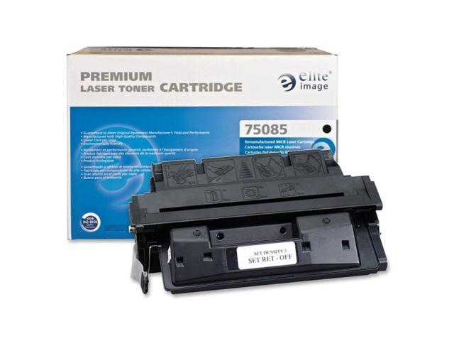 Elite Image 75085 Remanufactured HP 27X MICR Toner Cartridge Black