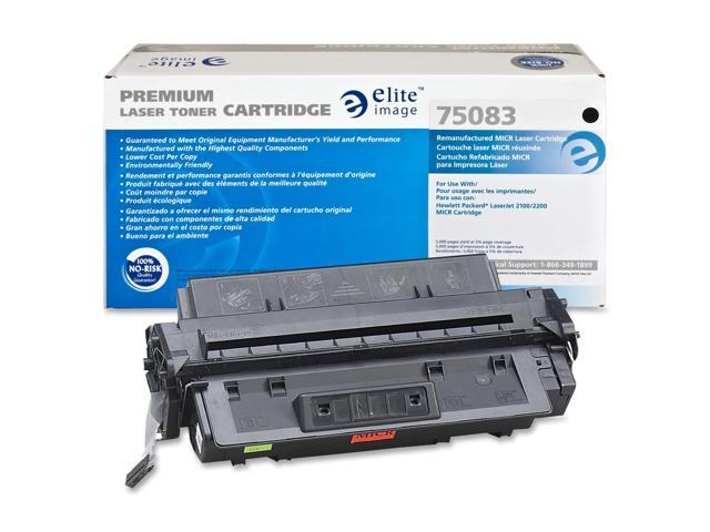Elite Image 75083 Black Remanufactured HP 96A MICR Toner Cartridge