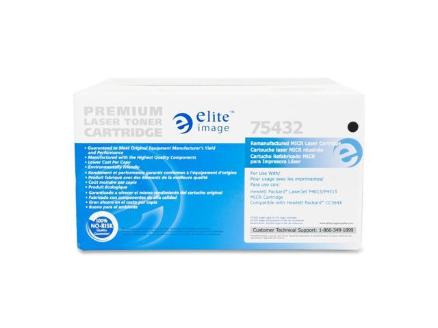 Elite Image 75432 Micr Toner Cartridge Black