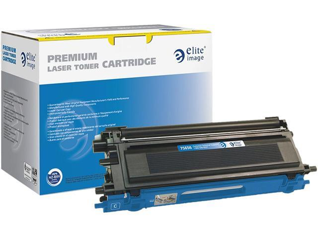 Elite Image 75656 Toner Cartridge Cyan