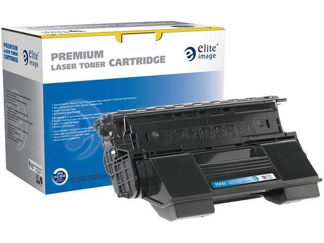 Elite Image ELI75742 Compatible toner replaces OKI52114502 Black