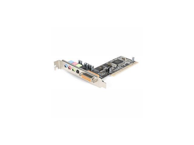 StarTech PCISOUND4CH 4 Channels 16-bit 48KHz PCI Interface Sound Card