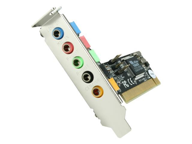 StarTech PCISOUND5LP 5 Channels PCI Low Profile Sound Adapter Card – 24 Bits