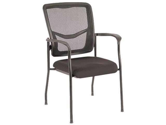 EX Series Mesh Guest Chair, Black