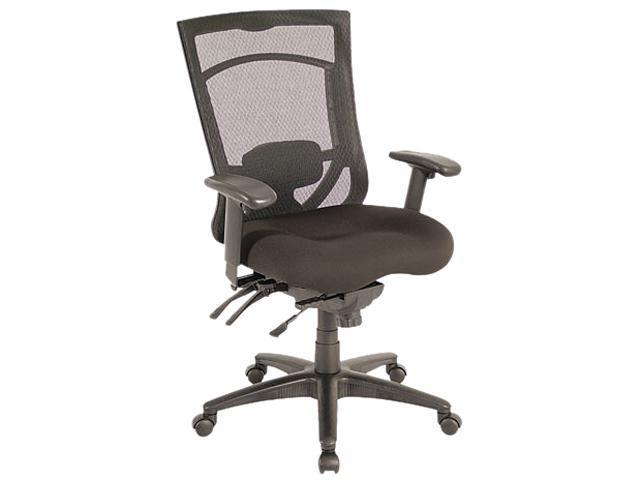 EX Series Mesh Multifunction High-Back Chair, Black