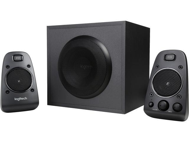 Logitech Z625 Speaker System With Subwoofer And Optical