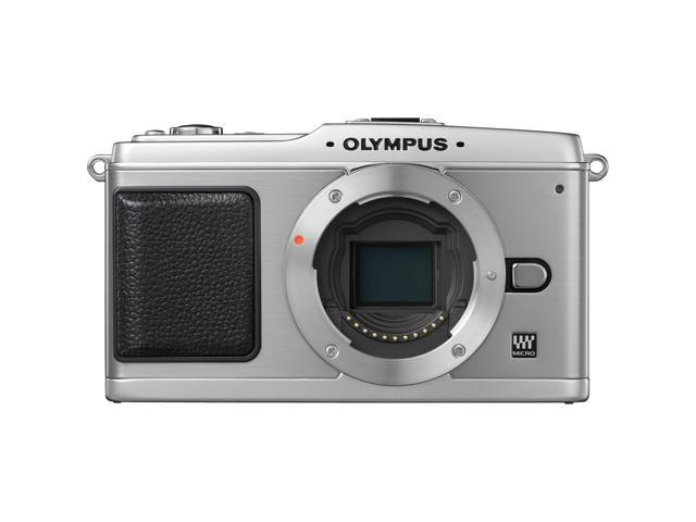 OLYMPUS PEN DIGITAL E-P1 Silver 12.3 MP Interchangeable Lens Type Live View Digital Camera - Body Only