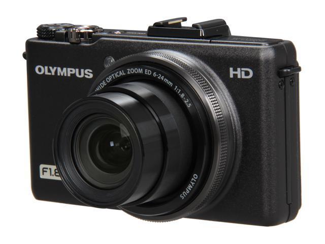 OLYMPUS XZ-1 Black 10.0 MP 4X Optical Zoom Digital Camera