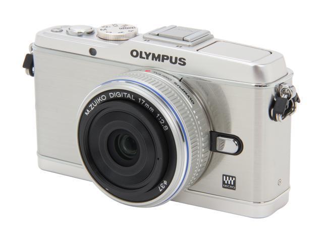 OLYMPUS PEN E-P3 V204033SU000 Silver 12.3 MP 3.0