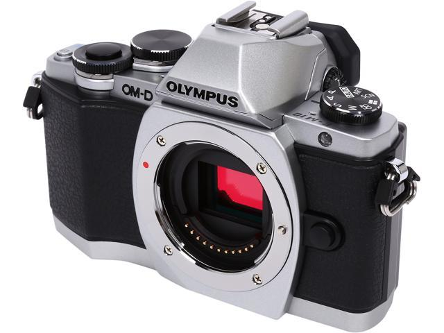 OLYMPUS OM-D E-M10 V207020SU000 Silver 16.1MP 3.0