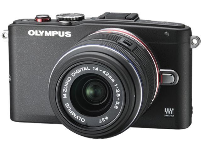 OLYMPUS PEN E-PL6 V205051BU000 Black 16 MP 3.0