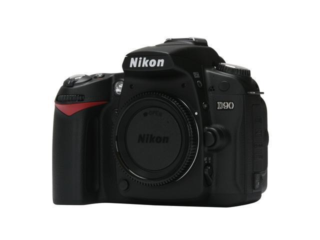 Nikon D90 Black 12.3 MP Digital SLR Camera - Body Only