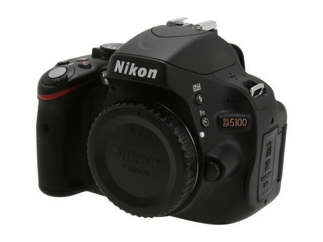 Nikon D5100 16.2MP CMOS Digital SLR with Vari-Angle LCD Monitor Body Only