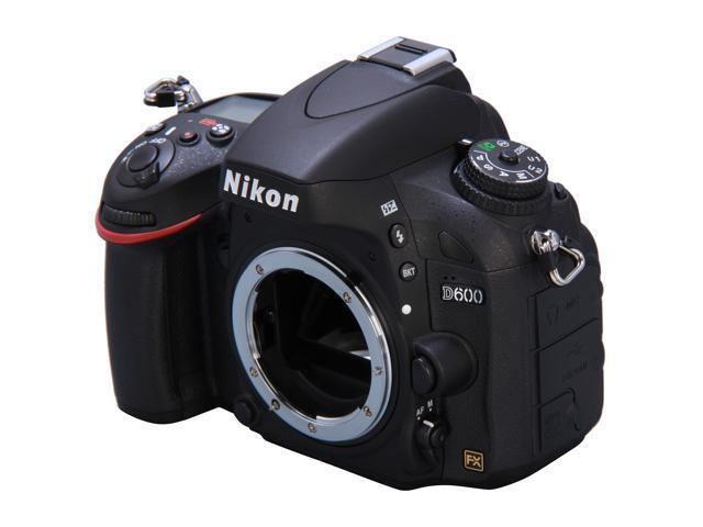 Nikon D600 24.3 MP Full Frame CMOS FX-Format Digital SLR Camera (Body)