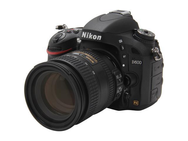 Nikon D600 24.3 MP CMOS FX-Format Digital SLR Camera with 24-85mm VR Lens Kit