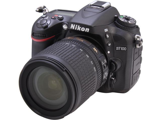Nikon D7100 1515 Black 24.1 MP Digital SLR Camera with 18-105mm VR Lens
