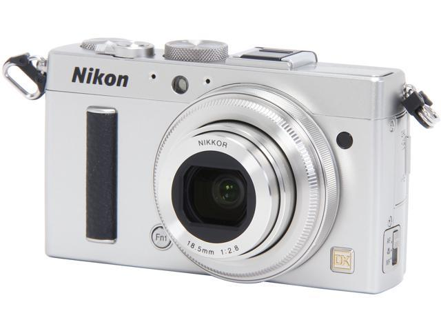 Nikon COOLPIX A 26424 Silver 16.2 MP 28mm Wide Angle Digital Camera