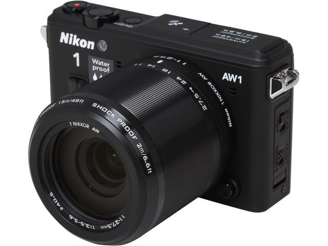 Nikon 1 AW1 27665 Black 14.2 MP 3.0