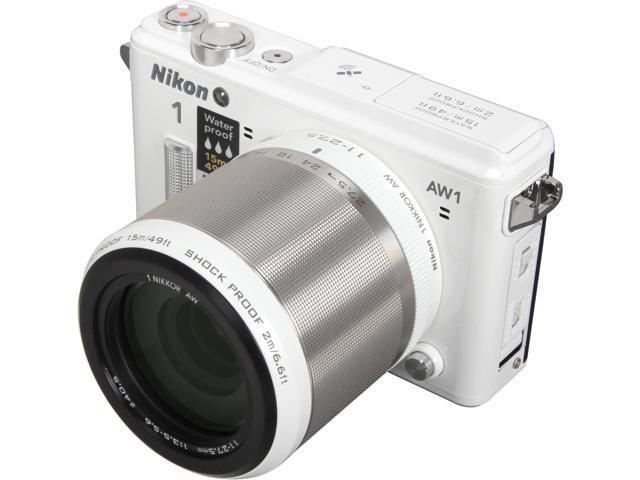 Nikon 1 AW1 27669 White 14.2 MP 3.0