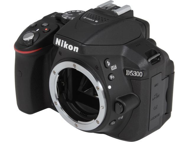Nikon D5300 1519 Black 24.2 MP Digital SLR Camera - Body
