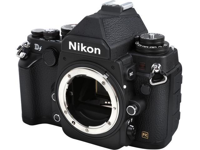 Nikon Df 1525 Black 16.2 MP Digital SLR Camera - Body