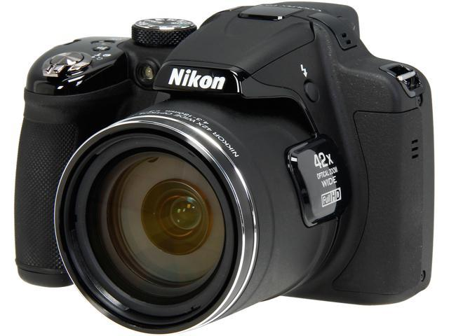 Nikon COOLPIX P530 26464 Black 16.1 MP 42X Optical Zoom 24mm Wide Angle Digital Camera HDTV Output