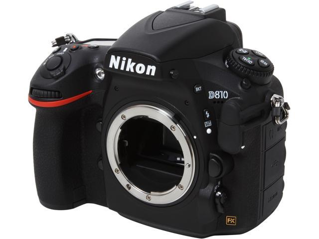 Nikon D810 1542 Black 36.3MP Digital SLR Camera - Body Only