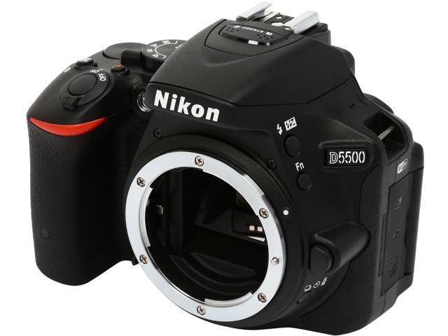 Nikon D5500 1544 Black 24.2 MP Digital SLR Camera - Body