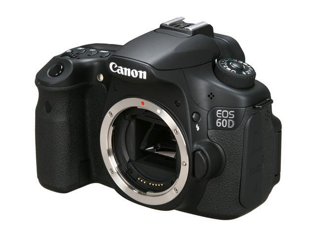 Canon EOS 60D 4460B003 Black 18.0 MP Digital SLR Camera - Body Only