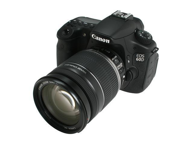 Canon EOS 60D 18MP CMOS Digital SLR Camera with EF-S 18-200mm f/3.5-5.6 IS Standard Zoom Lens