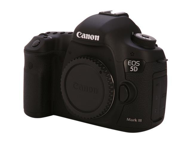 Canon EOS 5D Mark III 22.3MP Full Frame CMOS with 1080P Full-HD Video Mode Digital SLR Camera - Body Only
