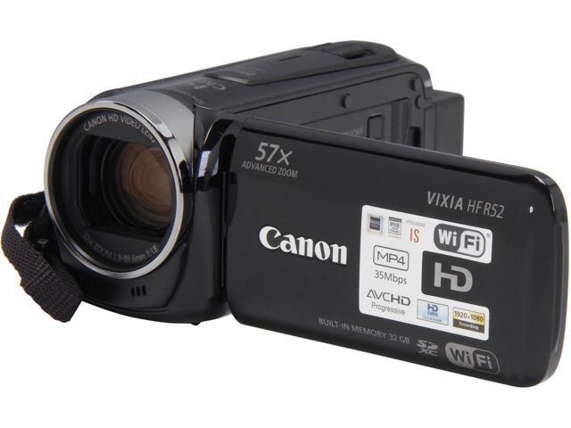 Canon VIXIA HF R52 9173B004 Black 1/4.85