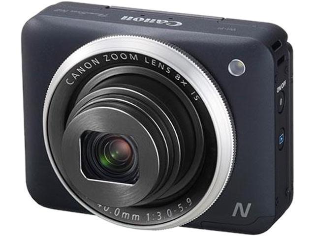 Canon PowerShot N2 9547B001 Black 16.1 MP 8X Optical Zoom 28mm Wide Angle Digital Camera