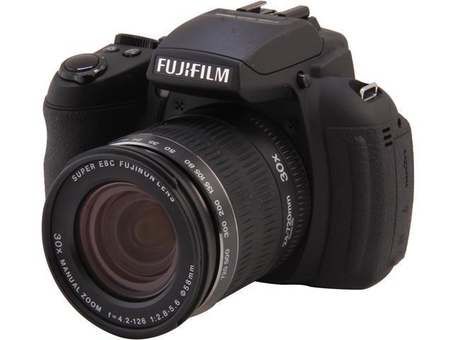 FUJIFILM FinePix HS35EXR 16286187 Black 16 MP 30X Optical Zoom 24mm Wide Angle Digital Camera