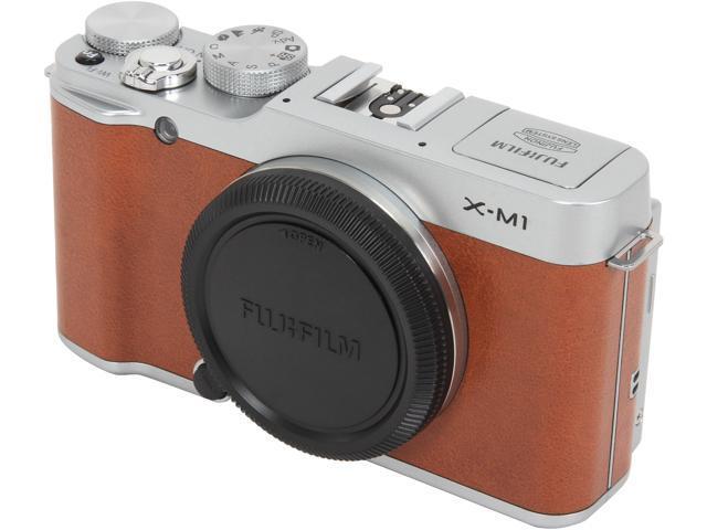FUJIFILM X-M1 16401775 Brown 16.3 MP 3.0