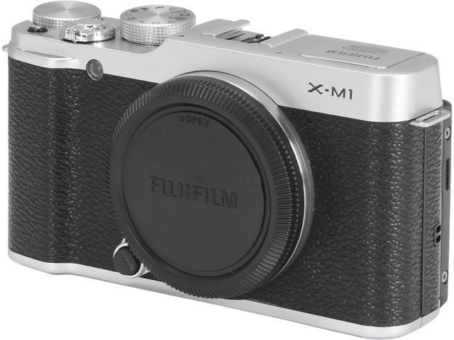 FUJIFILM X-M1 16390392 Silver 16.3 MP 3.0