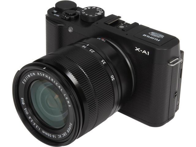 FUJIFILM X-A1 16395586 Black 16.3 MP 3.0
