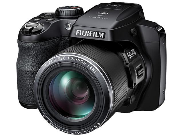 FUJIFILM FinePix S9400W 16408254 Black 16.2 MP 50X Optical Zoom 24mm Wide Angle Digital Camera