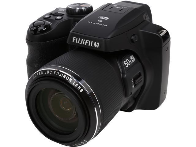FUJIFILM FinePix S9400W 16408254 Black 16.2 MP 50X Optical Zoom 24mm Wide Angle Digital Camera