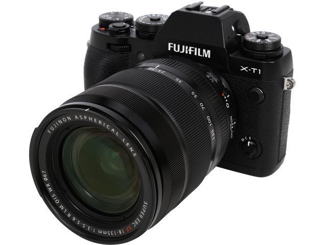 FUJIFILM X-T1 16432786 Black 16.3 MP 3.0