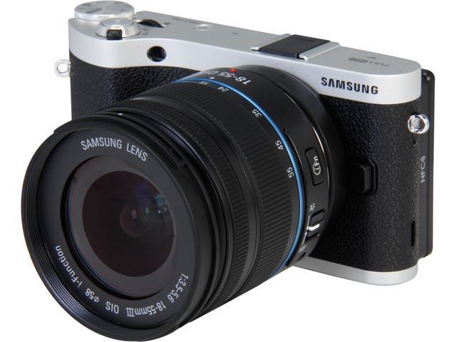 SAMSUNG NX300 EV-NX300ZBSTUS Black 20.3 MP 3.3