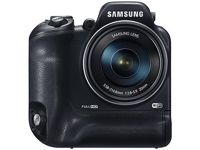 SAMSUNG WB2200F Black > 16.0 MP 60X Optical Zoom Digital Smart Camera