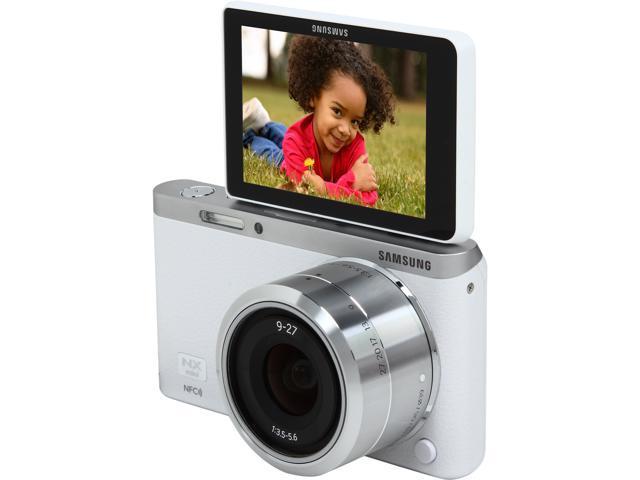 SAMSUNG NX Mini EV-NXF1ZZB2HUS White 20.5 MP 3.0